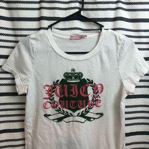 Juicy Couture Velvet Logo Top